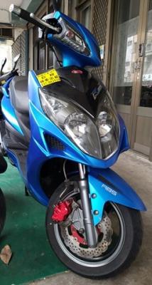雷霆(藍)abs版150cc