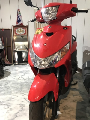 yamaha銳(紅)125cc