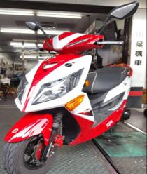 JET POWER(白紅)125CC